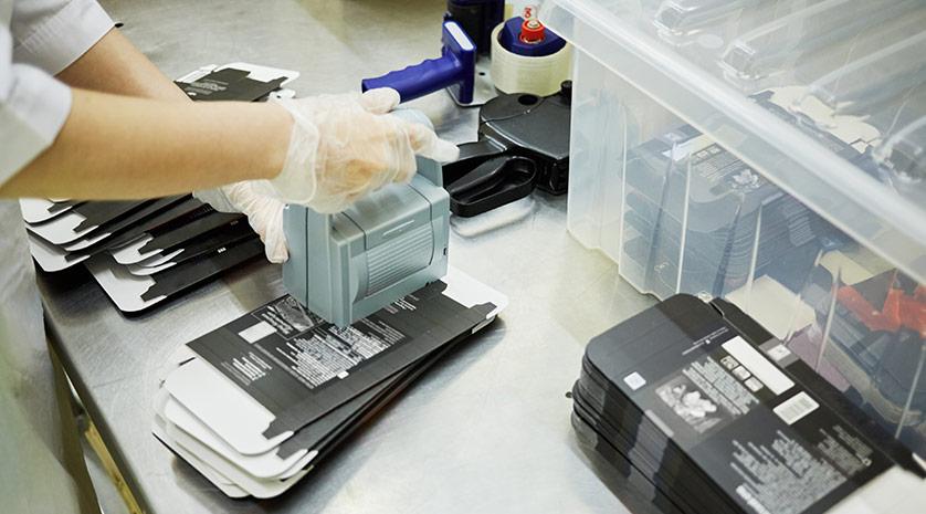Packbord för ökad effektivitet